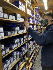 BMF Staff Picking NAPA Stock From Shelf