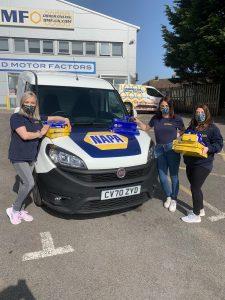 BMF Staff With NAPA Branded Van