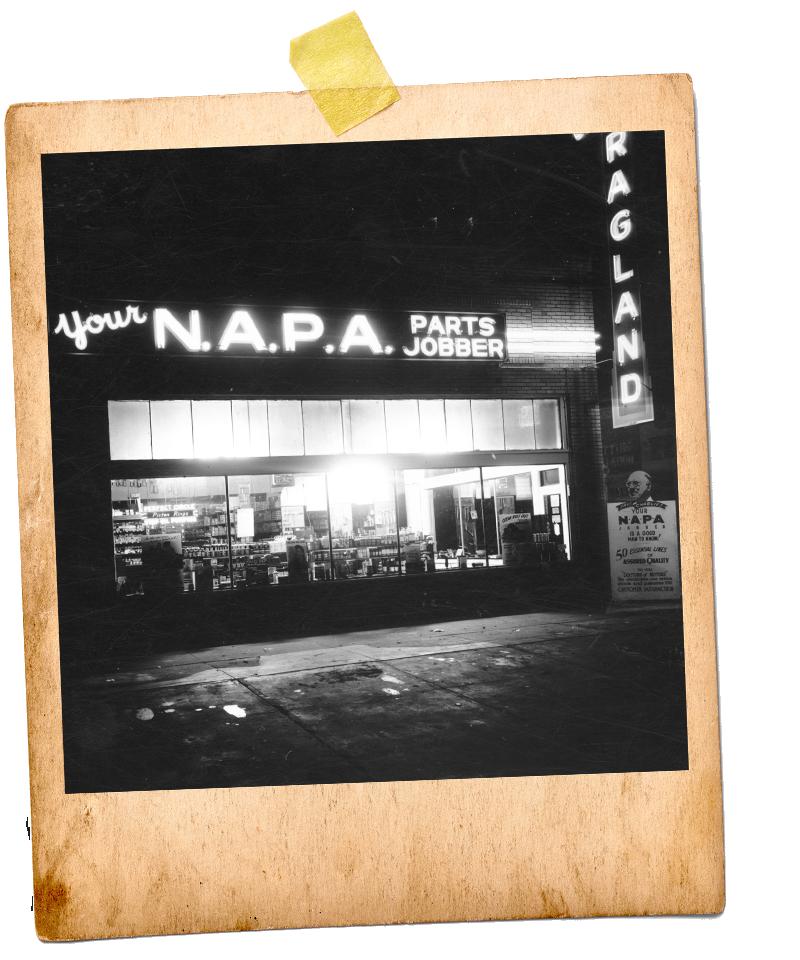 NAPA Jobber Heritage